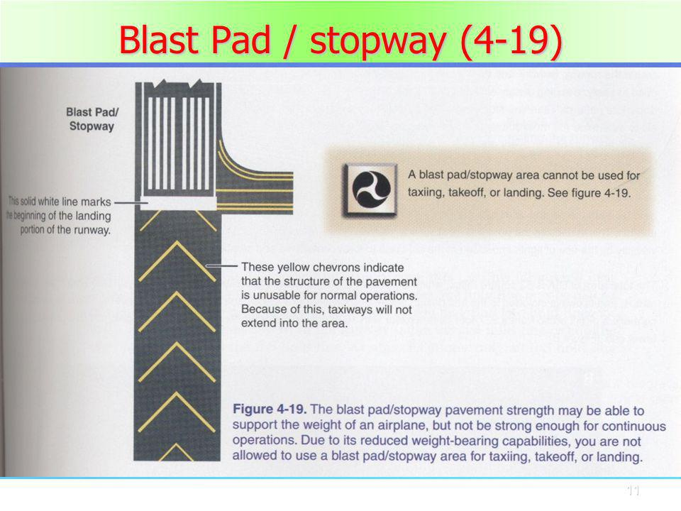 11 Blast Pad / stopway (4-19)