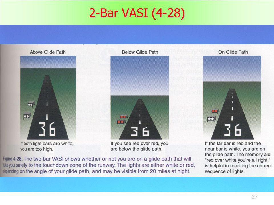 27 2-Bar VASI (4-28)