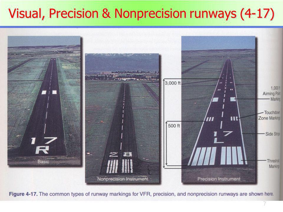 18 Airport Visual Aids Taxiway markings Taxiway marks Ramp area hand signals