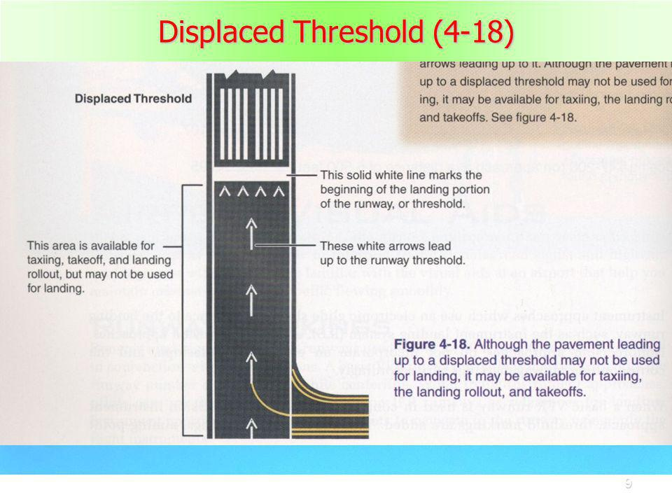 9 Displaced Threshold (4-18)