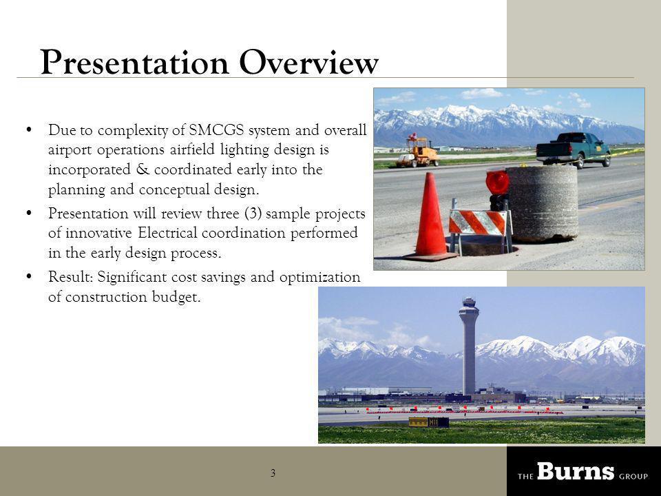 4 Runway 34R-16L – Case Study 1 Airports main operational runway.