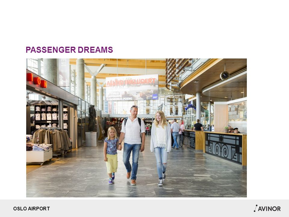 OSLO AIRPORT PASSENGER DREAMS