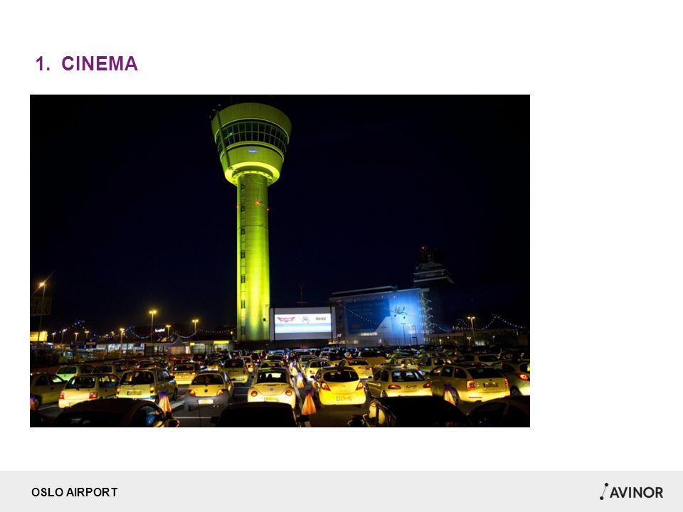 OSLO AIRPORT 1. CINEMA