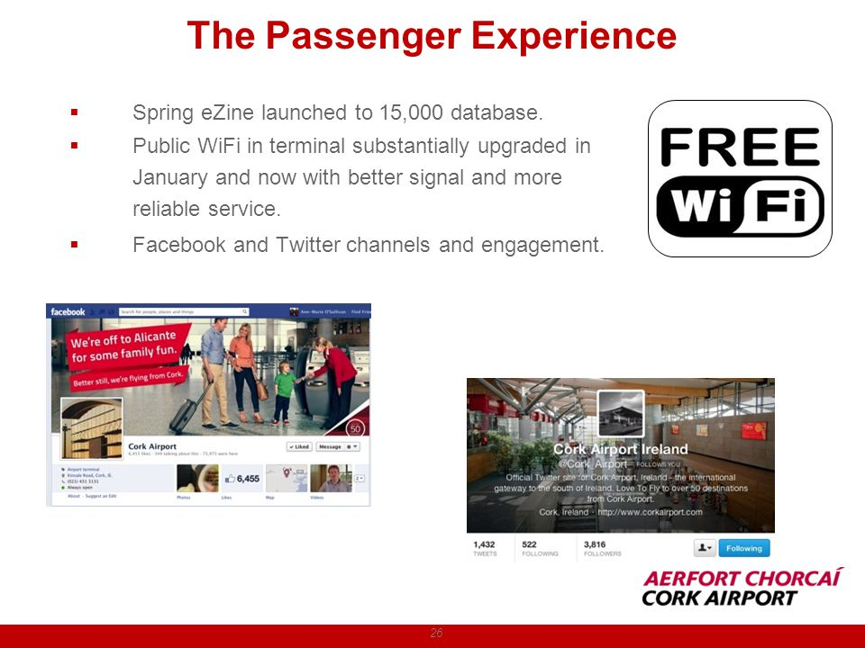 The Passenger Experience 26 Spring eZine launched to 15,000 database.