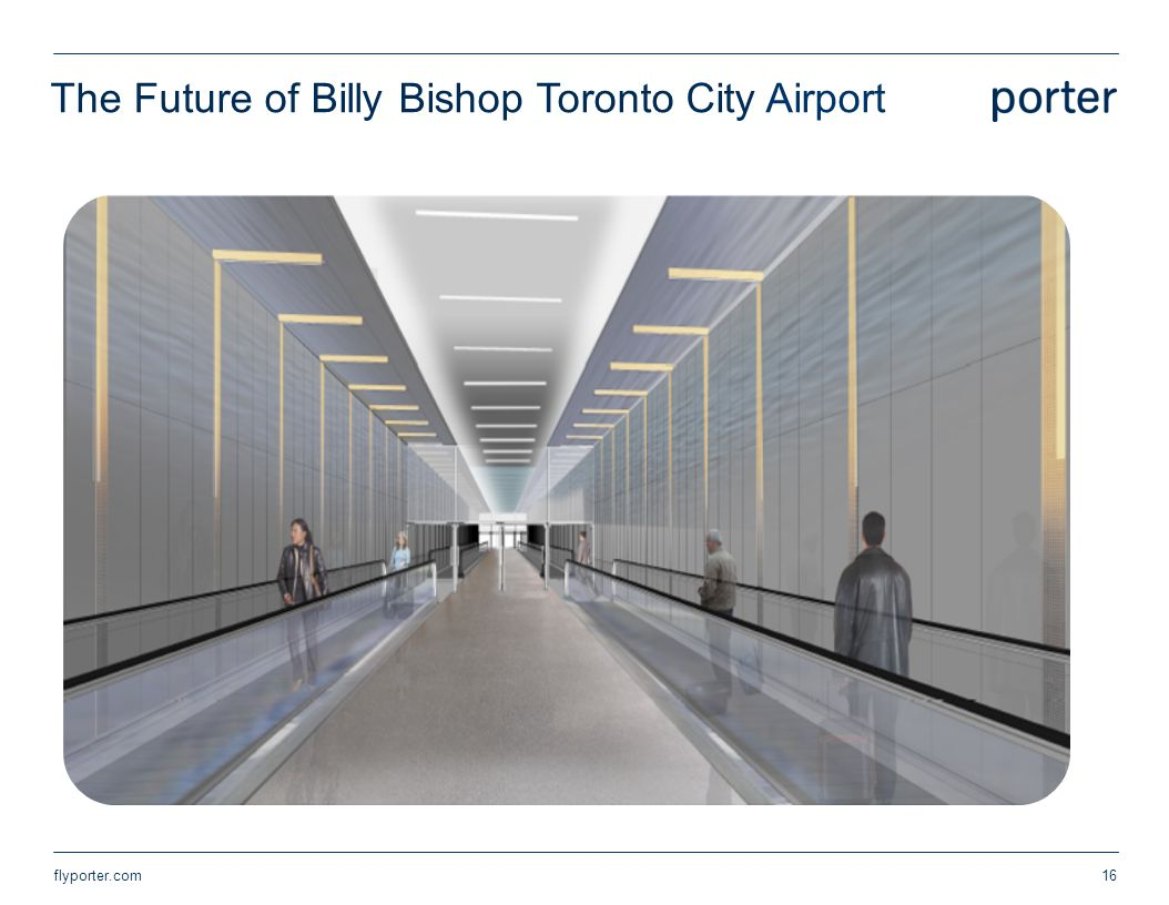The Future of Billy Bishop Toronto City Airport flyporter.com16