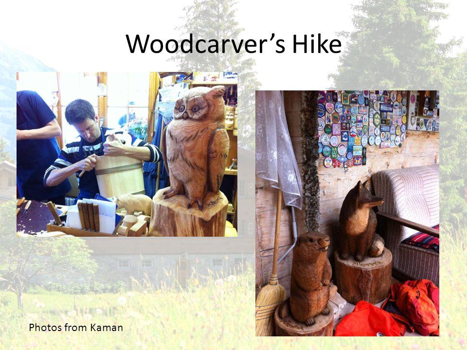 Woodcarvers Hike Photos from Kaman