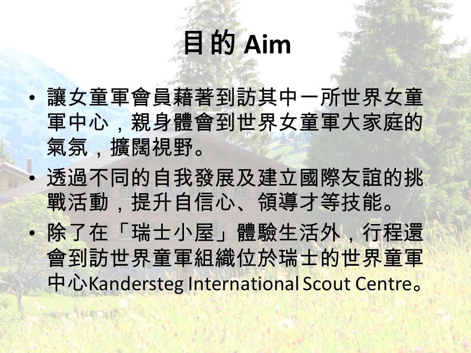 Aim Kandersteg International Scout Centre