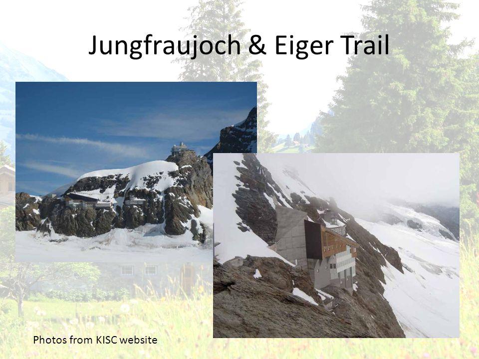 Jungfraujoch & Eiger Trail Photos from KISC website