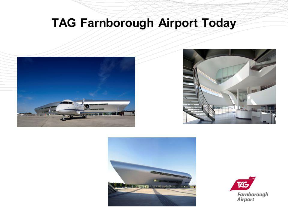TAG Farnborough Airport Today