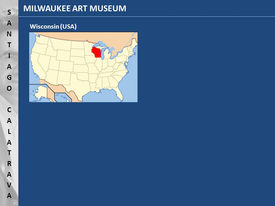 Wisconsin (USA) MILWAUKEE ART MUSEUM
