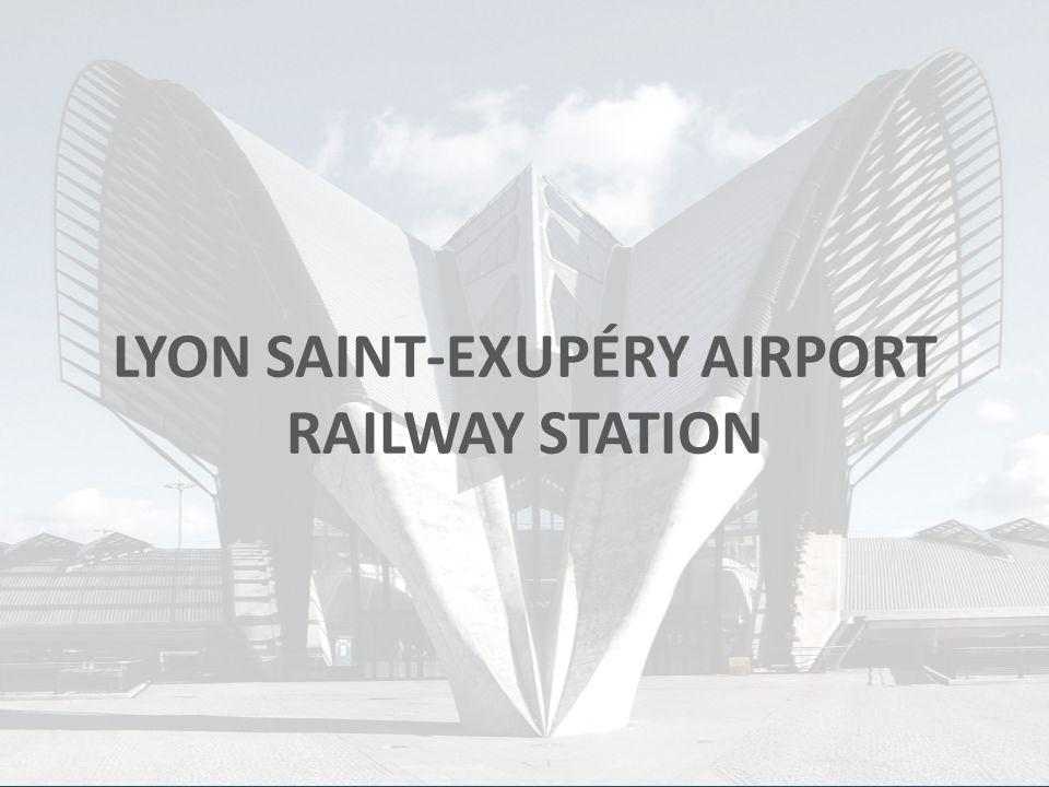 LYON AIRPORT RAILWAY STATION Construction1989 - 1994