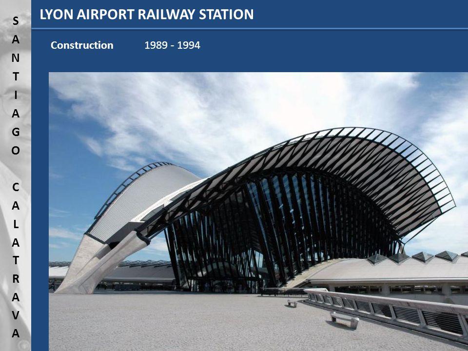 LYON AIRPORT RAILWAY STATION Lyon (France)