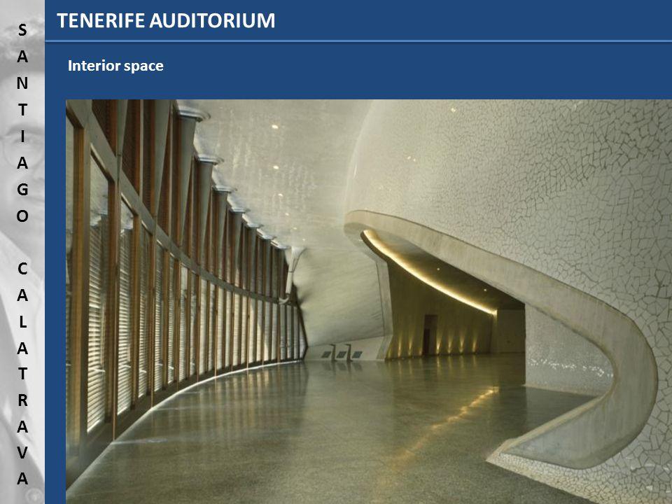 TENERIFE AUDITORIUM Interior space