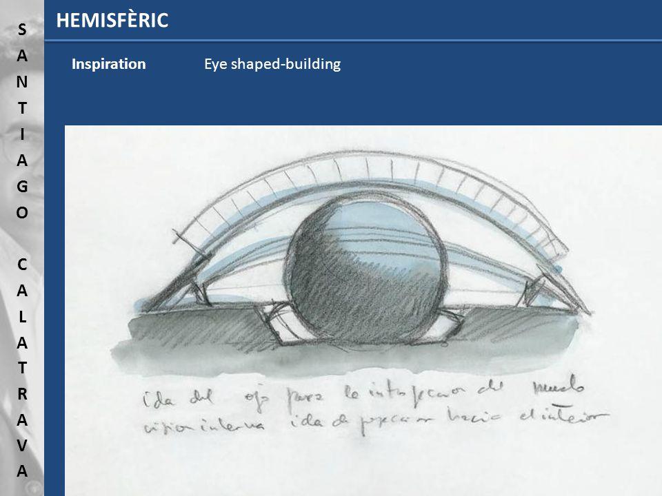 HEMISFÈRIC InspirationEye shaped-building