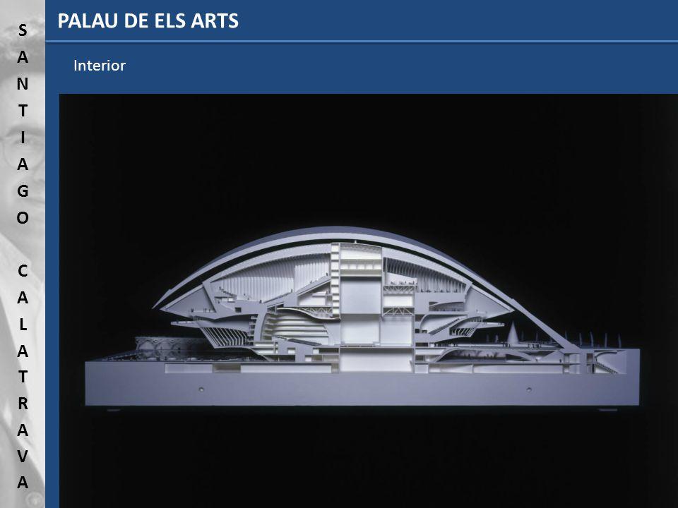 PALAU DE ELS ARTS Interior