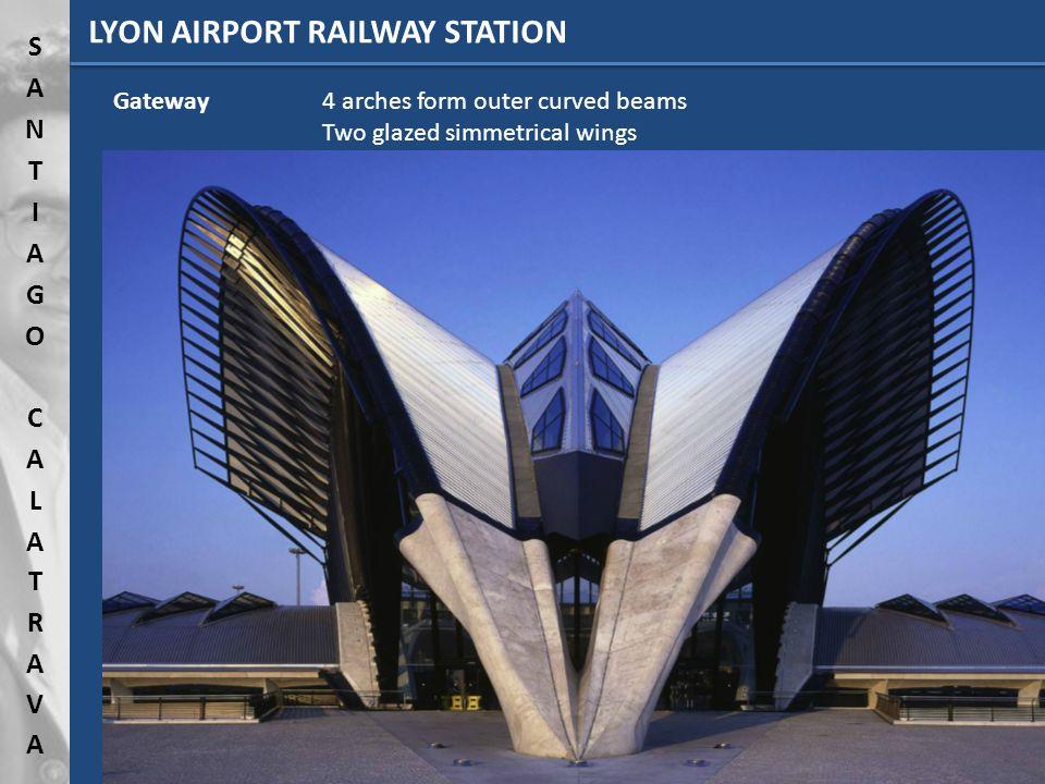 LYON AIRPORT RAILWAY STATION InspirationHuman body