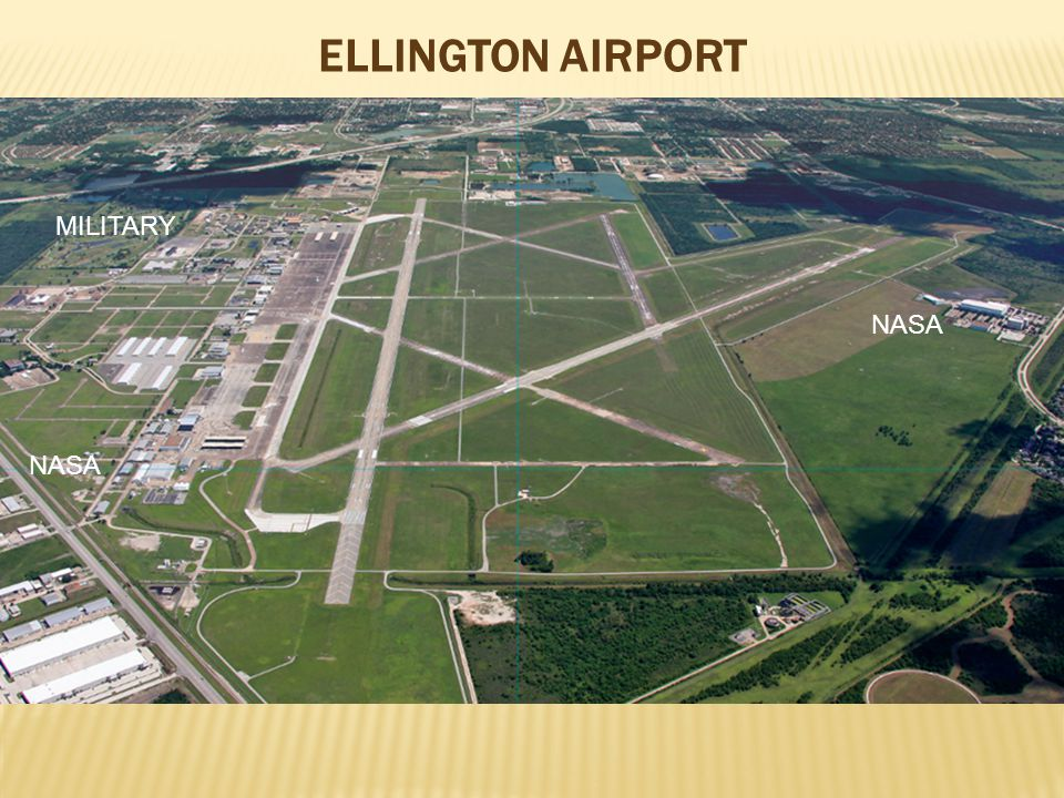ELLINGTON AIRPORT NASA MILITARY