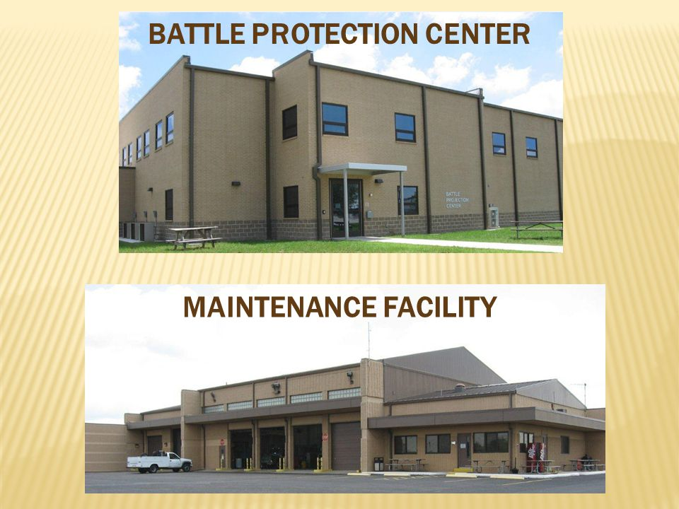 BATTLE PROTECTION CENTER MAINTENANCE FACILITY