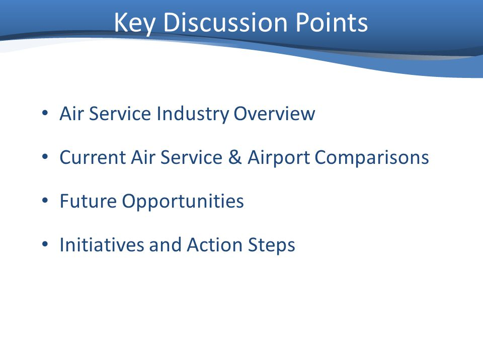 Air Service Industry Overview Airlines Decrease Capacity System Wide to Increase Load Factor and Yield