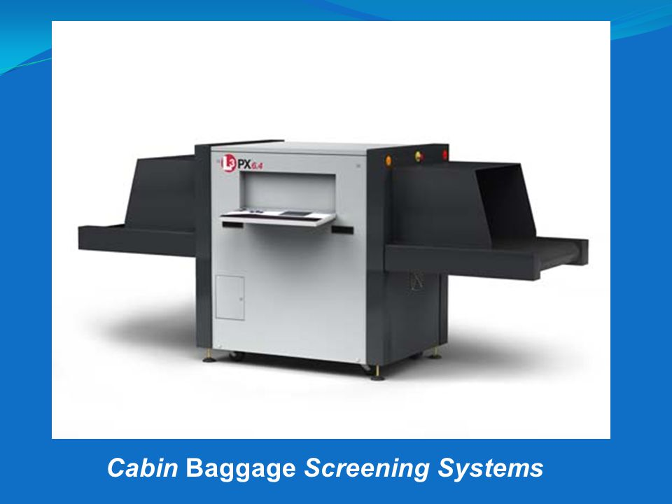 L3 MVT HR Cabin Baggage Screening Systems