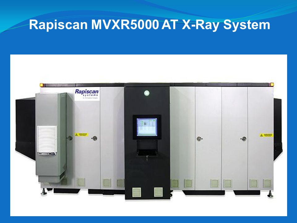 Rapiscan MVXR5000 AT X-Ray System