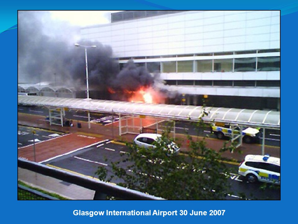Glasgow International Airport 30 June 2007