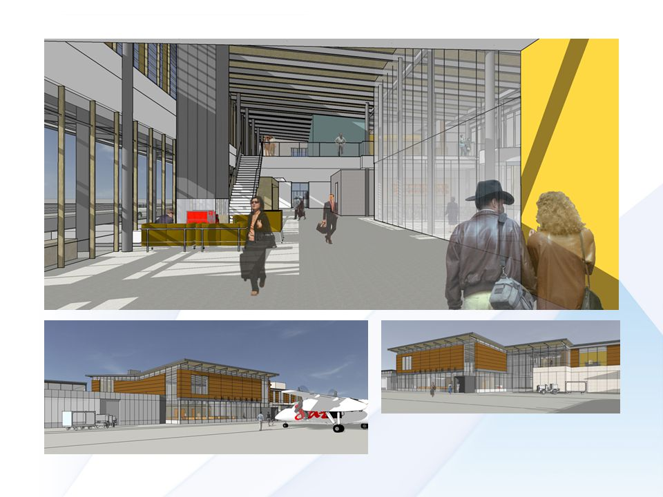 20% Terminal Cost Estimates Terminal (+/- 35,000 sq.