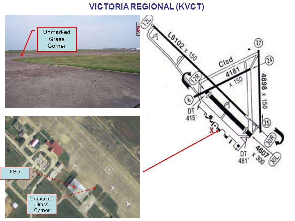 Unmarked Grass Corner FBO Unmarked Grass Corner VICTORIA REGIONAL (KVCT)