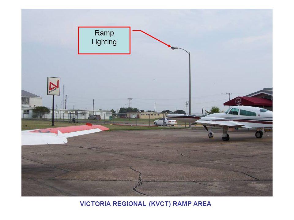 Ramp Lighting VICTORIA REGIONAL (KVCT) RAMP AREA