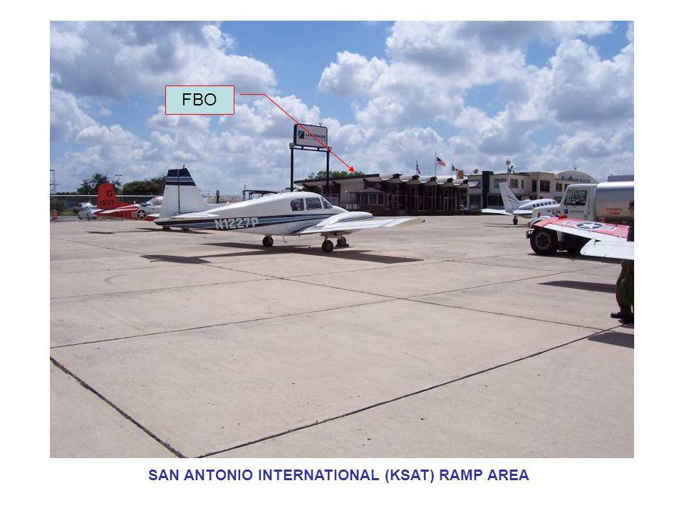 FBO SAN ANTONIO INTERNATIONAL (KSAT) RAMP AREA