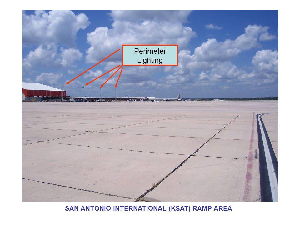 Perimeter Lighting SAN ANTONIO INTERNATIONAL (KSAT) RAMP AREA