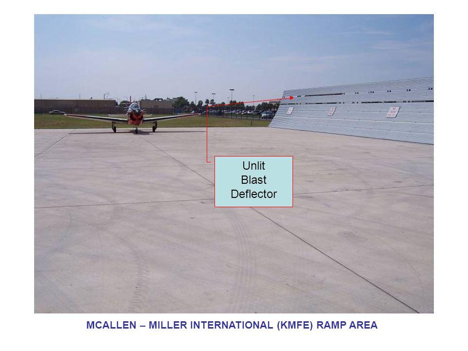 FBO Ramp Lighting MCALLEN – MILLER INTERNATIONAL (KMFE) RAMP AREA