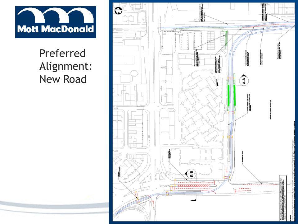 Preferred Alignment: New Road