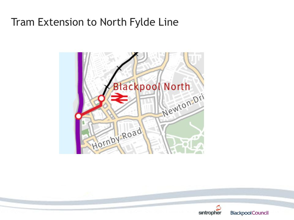 Tram Extension to North Fylde Line