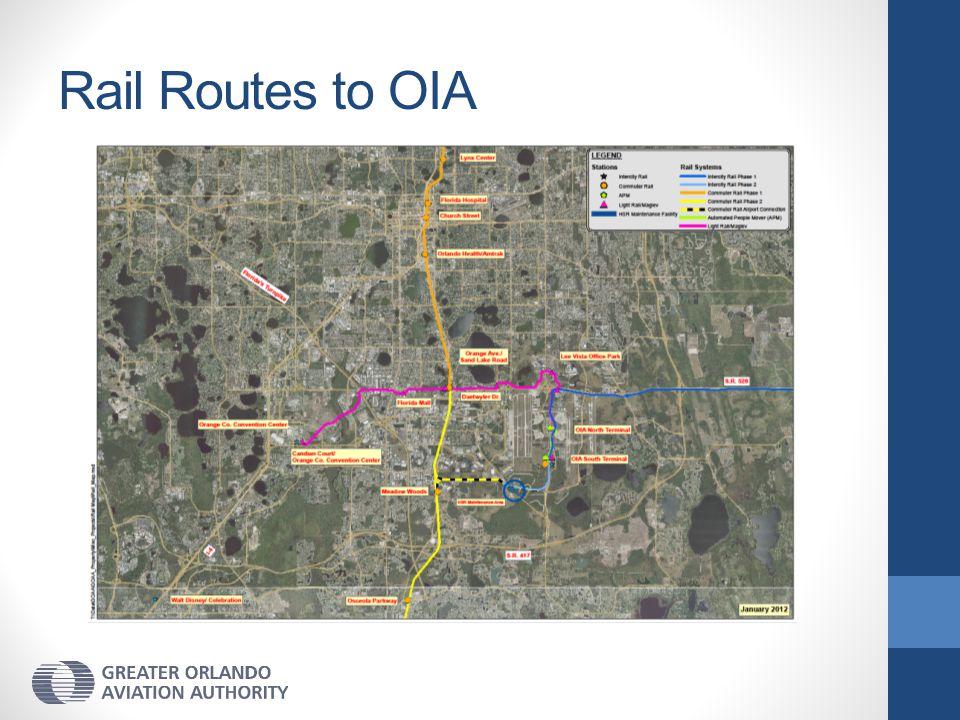 Rail Routes to OIA