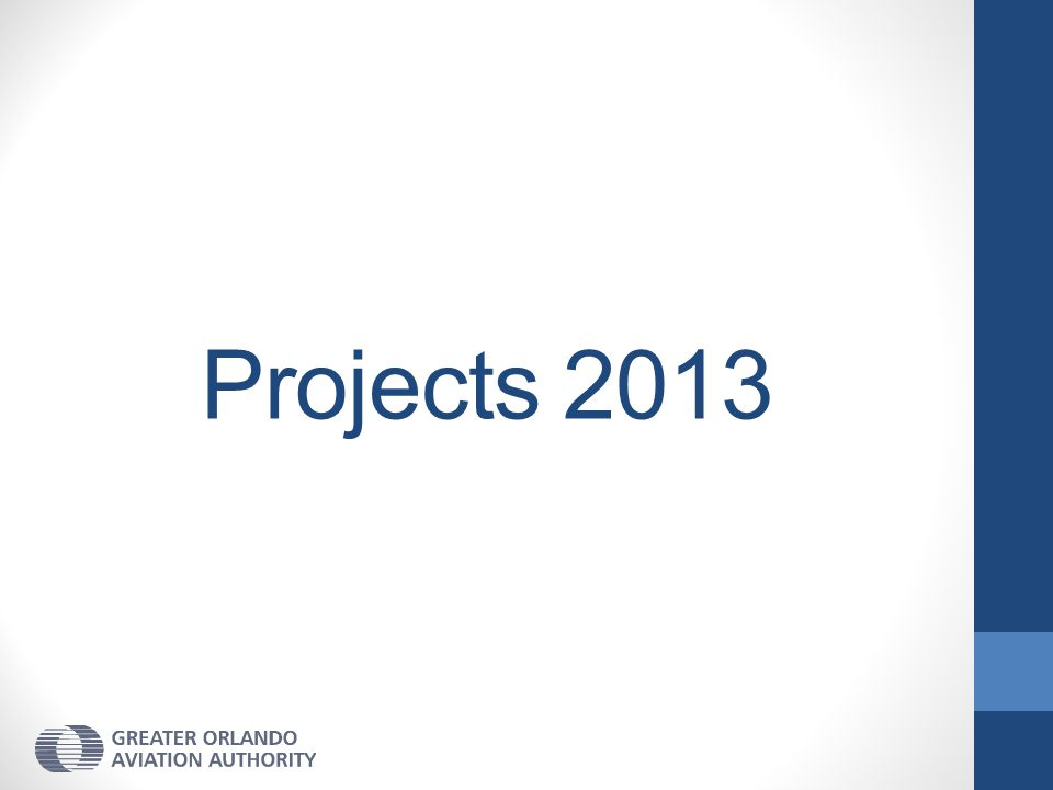 Projects 2013