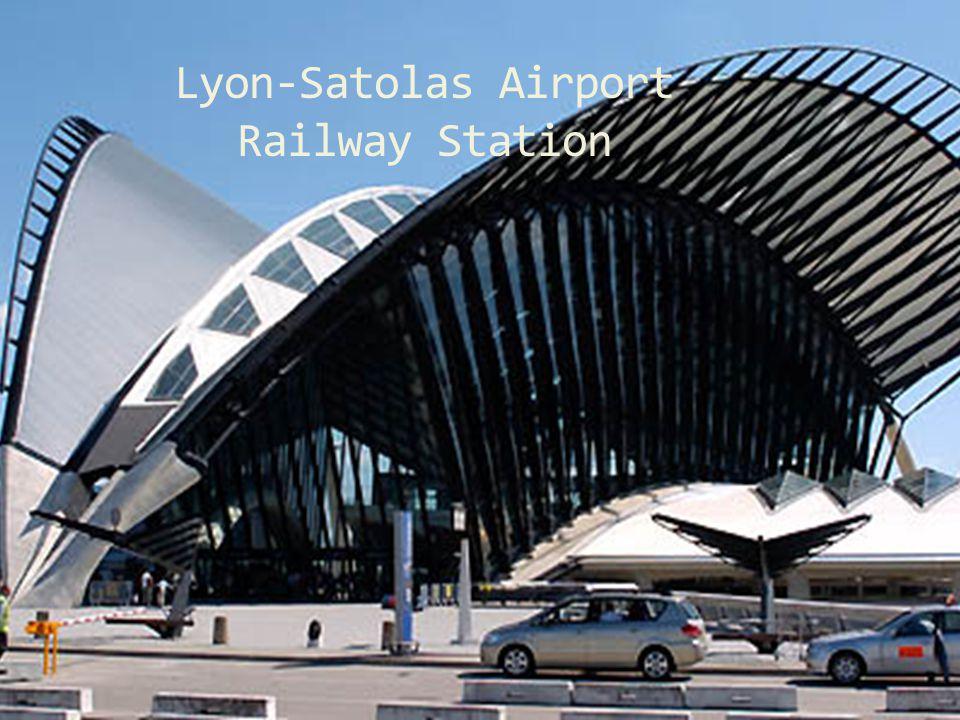 Lyon-Satolas Airport Railway Station