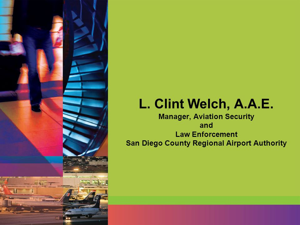 L. Clint Welch, A.A.E.