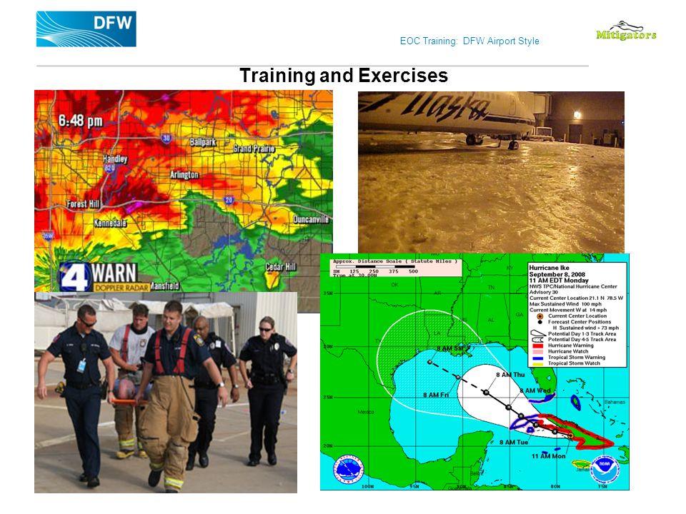 EOC Training: DFW Airport Style Training and Exercises