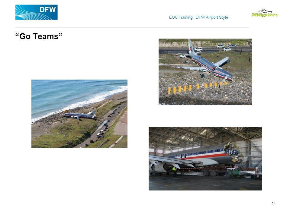 EOC Training: DFW Airport Style Go Teams 14