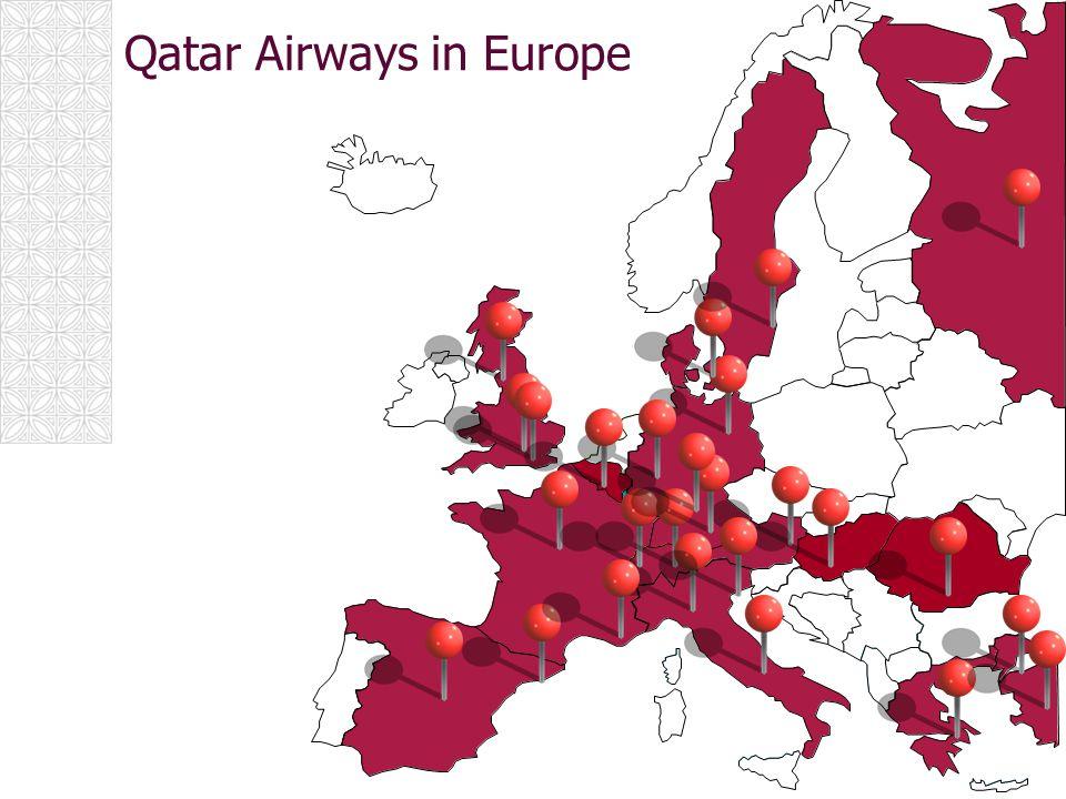 Qatar Airways in Europe