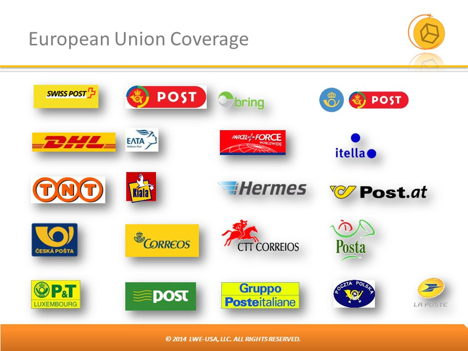 © 2014 LWE-USA, LLC. ALL RIGHTS RESERVED. European Union Coverage