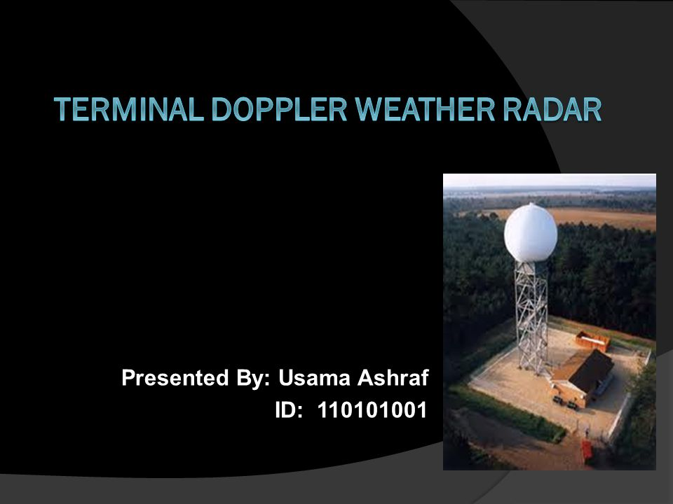 Advantages & Disadvantages A NEXRAD weather radar is a 10 cm wavelength (2700-3000 MHz) radar capable of a complete scan every 4.5 to 10 minutes, depending on the number of angles scanned.