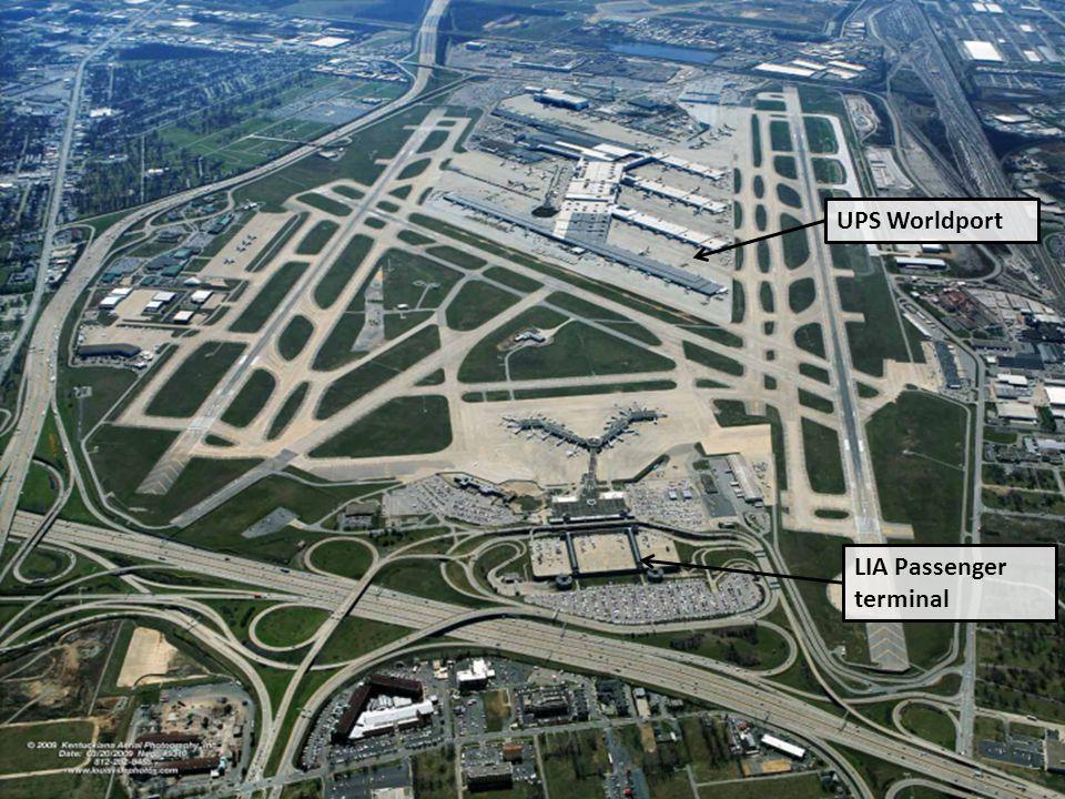 Louisville UPS Worldport LIA Passenger terminal