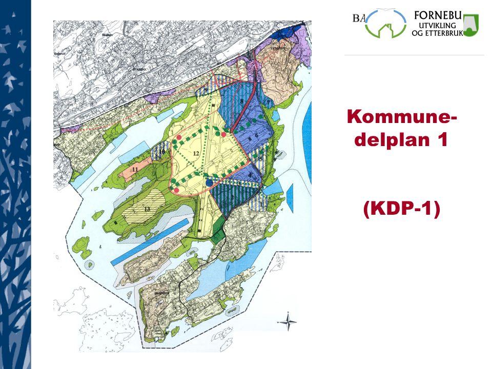 Kommune- delplan 1 (KDP-1)