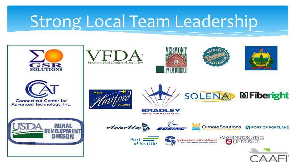 Strong Local Team Leadership