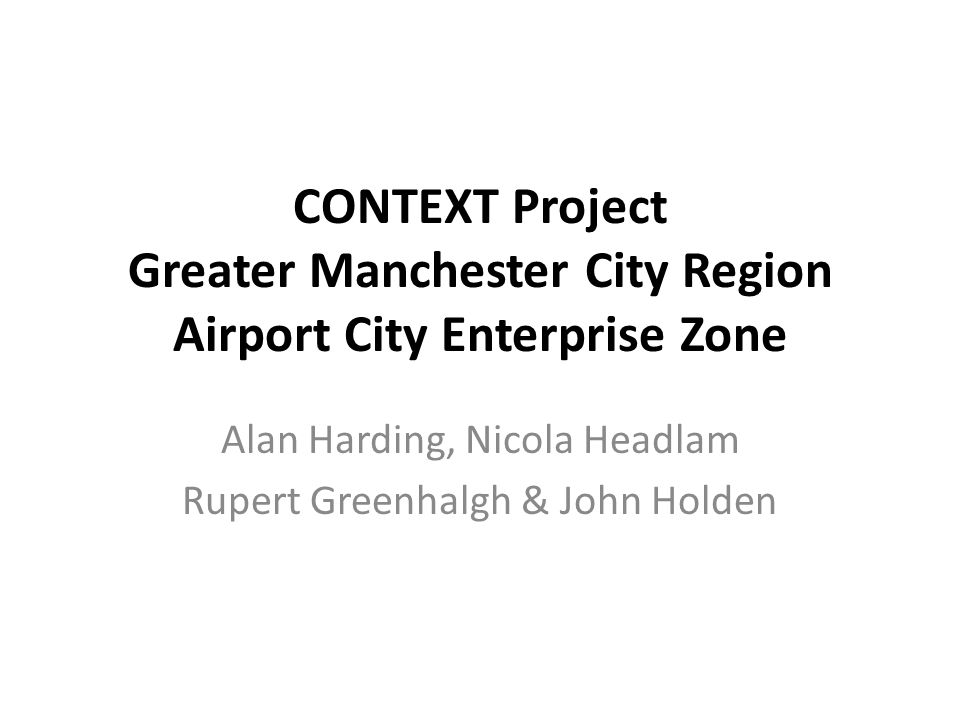 CONTEXT How can central regulation be matched with interactive local policies in such a way that it enables legitimate and effective strategies of collective action with regards to sustainable development in areas of urban transformation?