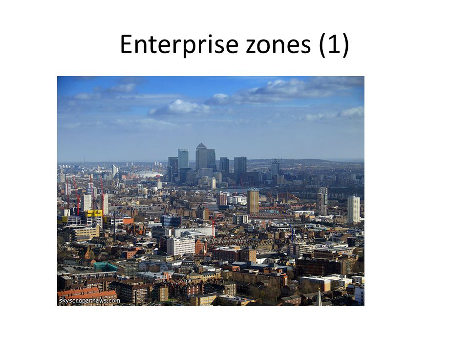 Enterprise zones (1)