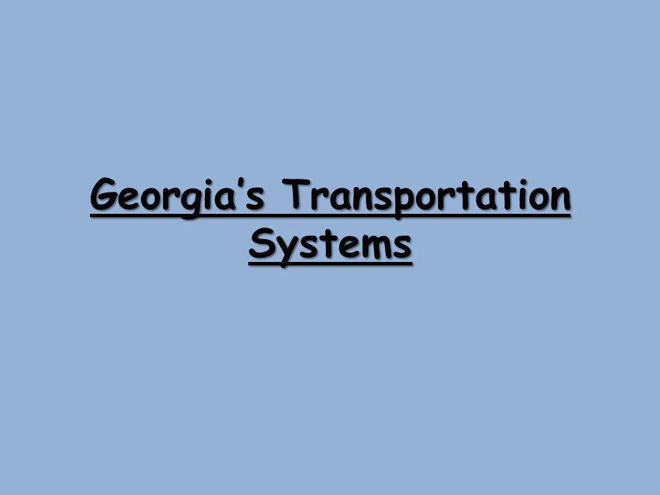 Georgias Transportation Systems