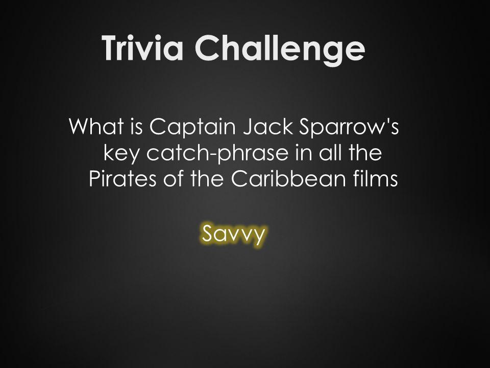 Trivia Challenge
